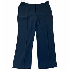 Gerry Weber Navy High Rise Straight Leg Trousers
